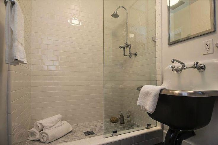 Kishani Perera Bathrooms Cast Iron Tub Black And