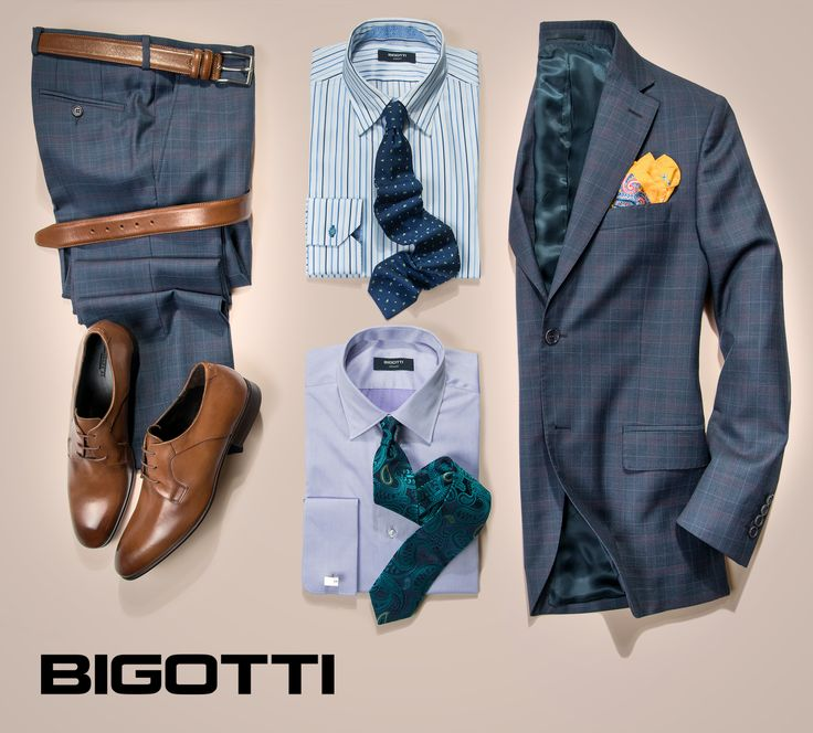 Compose your #wardrobe #effectively - it does not take very many pieces, but the #right #pieces! #Classical #elements correspond #best to this description, because they never get out of #fashion and accept #different #combinations and #adaptations . #Products are #available in #Bigotti #men clothing #stores and on www.bigotti.ro