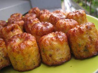 Bouchées apéritives dukan au thon et à la moutarde à l'ancienne - Recette Ptitchef