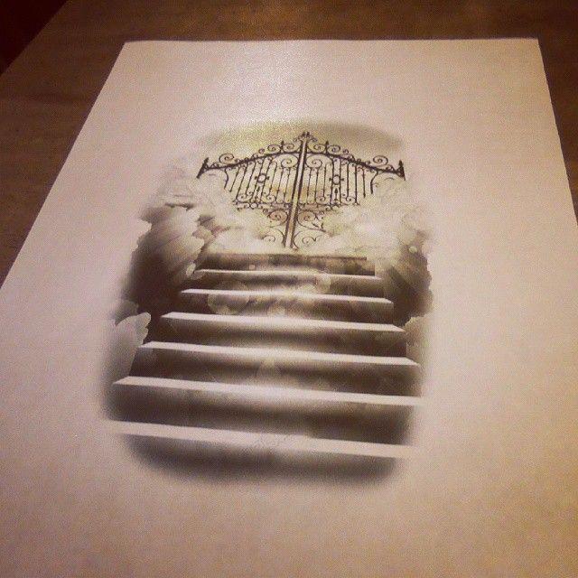 stairway to heaven painting stairway to heaven foto bugil bokep 2017. Black Bedroom Furniture Sets. Home Design Ideas