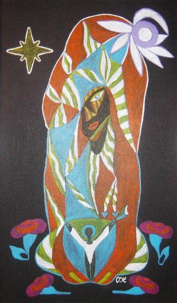 Душа матери, интуиция, картина. стих