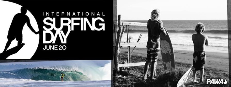 Pawa wishes everyone a happy International Surfing Day, may we all catch awesome waves!