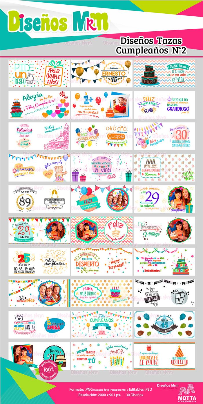 Disenos de carteles de feliz cumpleanos