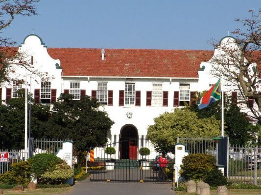 Clarendon Girls' High School, East London, Eastern Cape, South Africa. Clarendon is just down the street from Selborne, the premier boys school in East London.