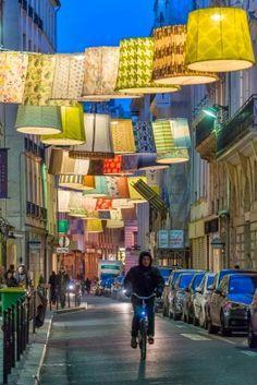 Rue du Mail, Paris, France.
