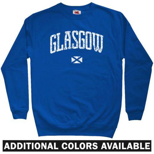Glasgow-Escocia-Sudadera-Rangers-FC-Celta-Guerreros-Gb-Crewneck-hombres-S-3XL
