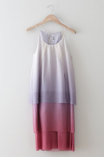 Halter Dresses Are Coming Back For Spring — Acne Satya Degrade Tiered Dress