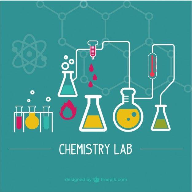 Ilustração laboratório de ciências Vetor grátis