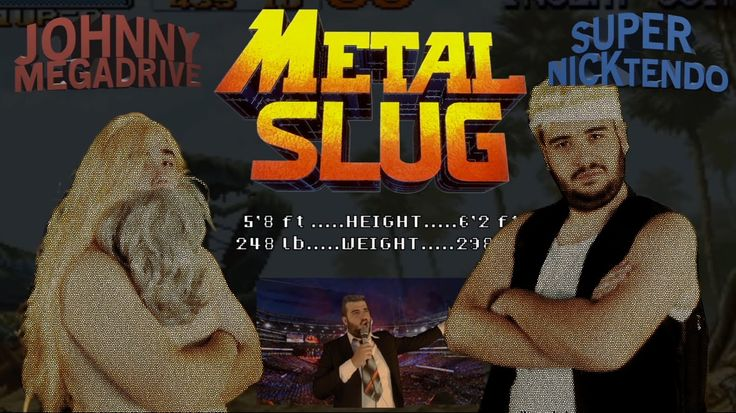 WE HAVE A WAR .. SOLDIER , Today we play Metal Slug ...... an arcade Game published in 1996 by SNK