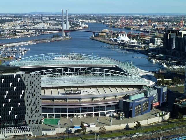 High Level Views Overlooking Docklands | Docklands, VIC | Accommodation
