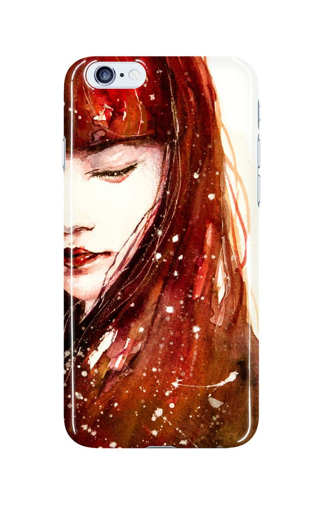 Red Soul - Phone Case  Made out of a polycromate plastic. Each printed case weighs less than 1oz.   Matte vs Glossy:  The matte finish comes out soft and muted. The glossy finish is vivid and shiny.   You can choose different phone model cases: iPhone 5, iPhone 6, iPhone 6+, Note 3, Note 4, Galaxy S4, Galaxy S5,