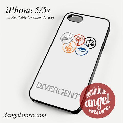 Divergent The Faction Phone Case for iPhone 4/4s/5/5c/5s/6/6s/6 plus