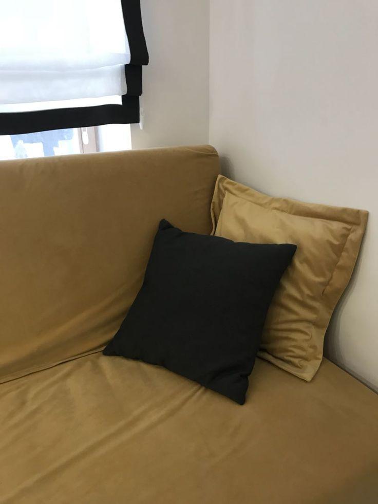 Чехол на диван из велюра
