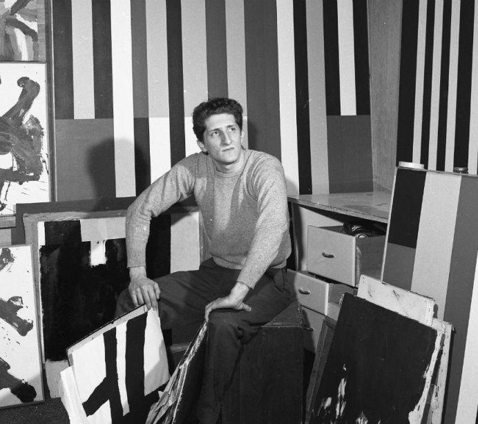Guido Molinari, 1962. Photo Talbot.