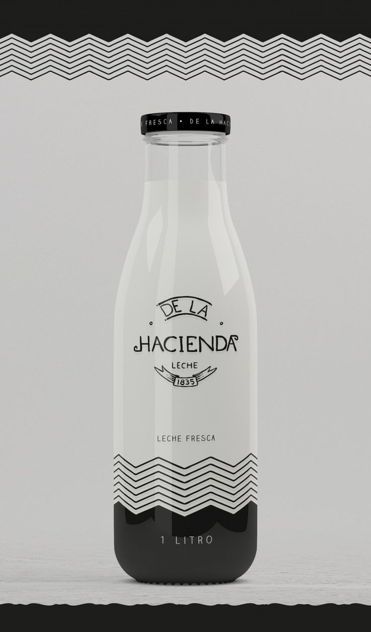 La Hacienda – Fresh Milk / Milk bottle Package