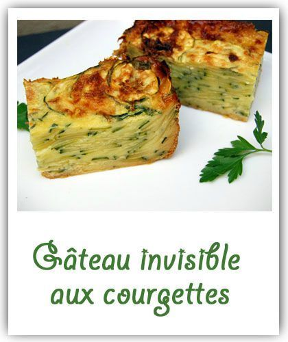Gâteau invisible courgettes, safran et parmesan - Selon l'humeur... ou l'envie