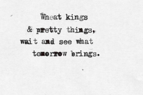 Tragically Hip Wheat Kings