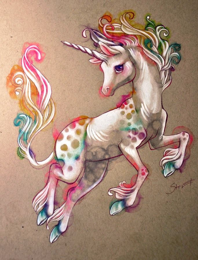 Woosie's Unicorn by Tamisery on DeviantArt (http://tamisery.deviantart.com/art/Woosie-s-Unicorn-186989668)