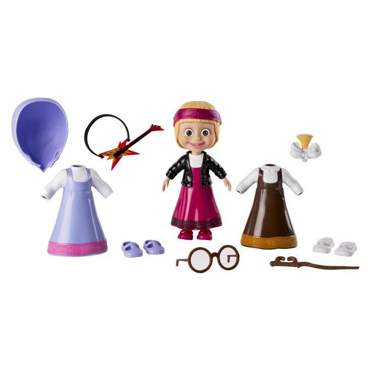 Masha and the Bear - Snap 'N Fashion 2 - Masha Doll,