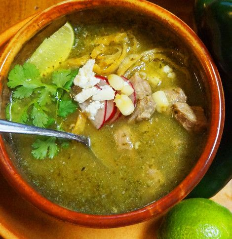 Verde Pork Posole                                                                                                                                                     More