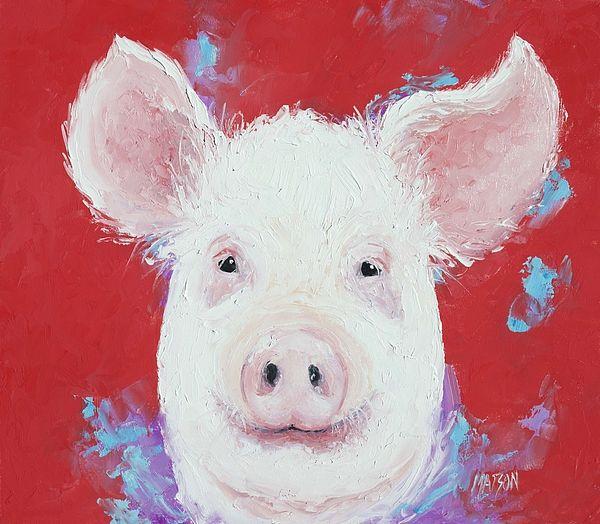 Pig Art  #kitchenwalldecor #countrykitchendecor #kitchenart
