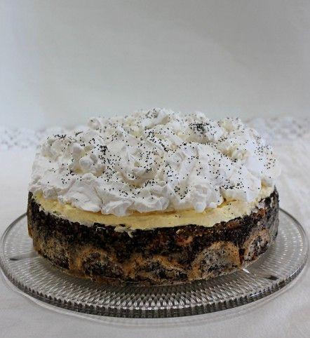 Mennyei mákos guba torta Recept képpel - Mindmegette.hu - Receptek
