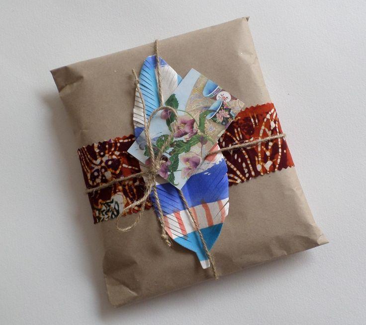 handmade packaging for scarves