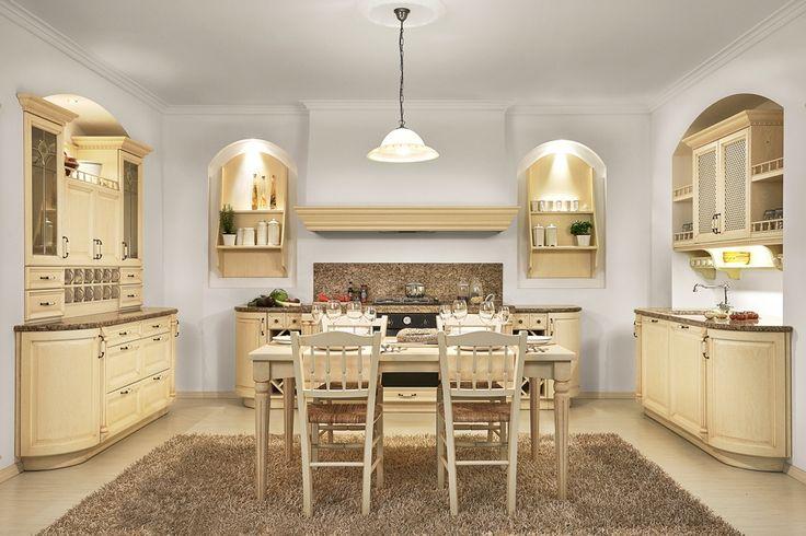 rustikalna kuchyna HANAK na mieru, svetla dyha s vyraznou kresbou, do detailov prepracovane vsetky casti kuchyne, unikatny pribornik #URGELA#HANAK