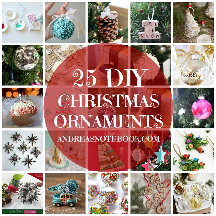 81 best holiday christmas ornaments images on pinterest christmas 25 diy christmas ornaments solutioingenieria Images