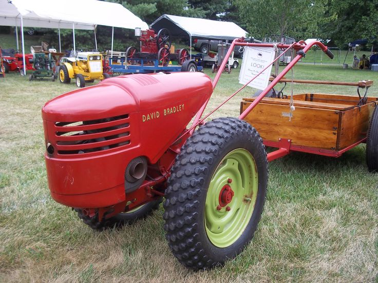 Old David Bradley Roto Tiller Walk Behind Tractors Pinterest