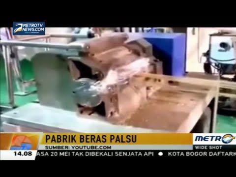 Proses Pembuatan Beras Plastik Sintetis Palsu - Pabrik Pembuatan Beras Plastik Sintetis Palsu