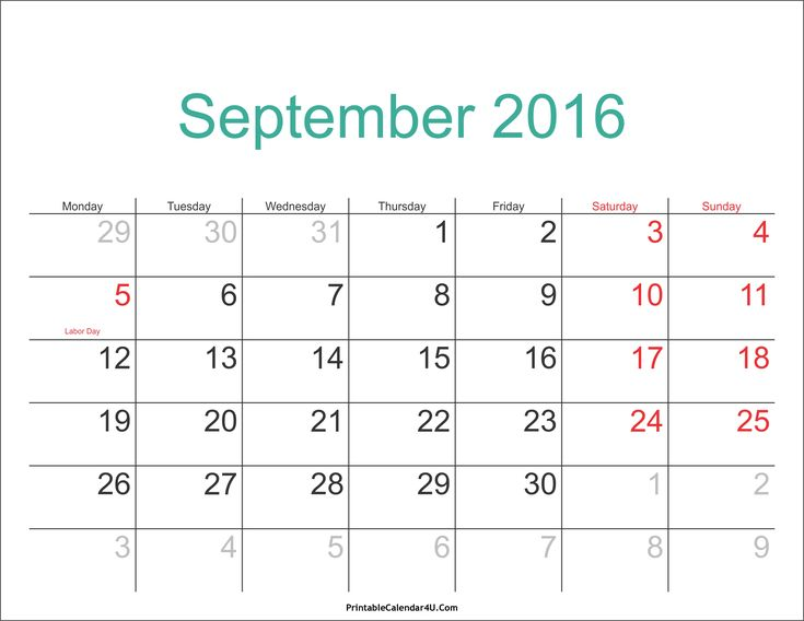 editable monthly calendar 2017