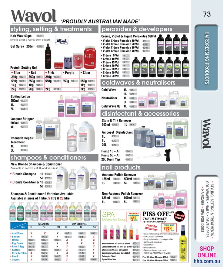 Wavol - Australian Made Hairdressing Products #hairdressing #haircareproducts