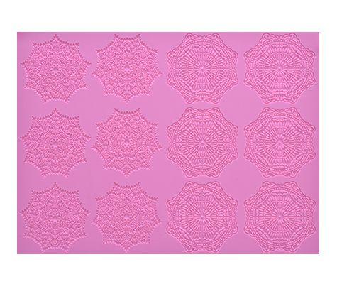 Cake lace Claire Bowman mat - Alexandra