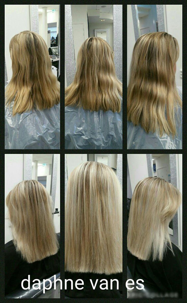 Blond.. #before #after #blond #mywork
