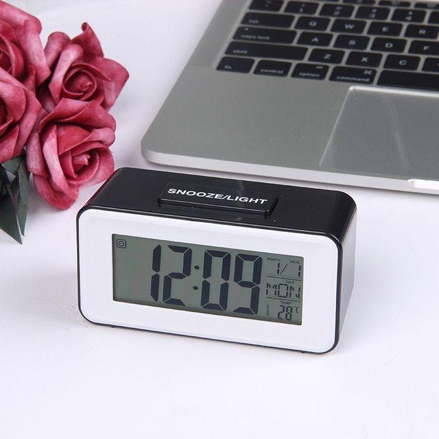 Led Alarm Clock Digital Table Clocks Student Clock With Week