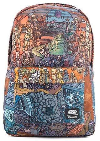 267831dfd36f Loungefly Star Wars Jabba s Palace Backpack Pencil Case S... https
