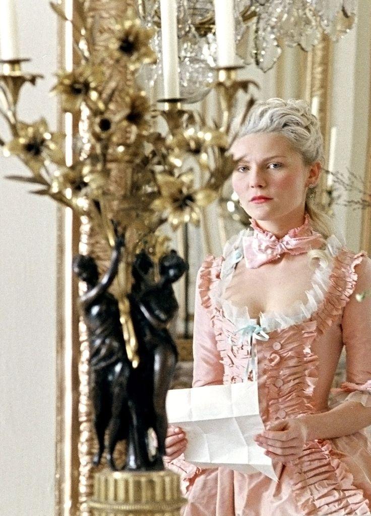 Marie Antoinette (2006) with Kirsten Dunst by Sofia Coppola, dress design Milena Canonero