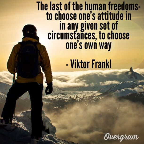 victor frankl These are some of the lessons viktor frankl taught us.
