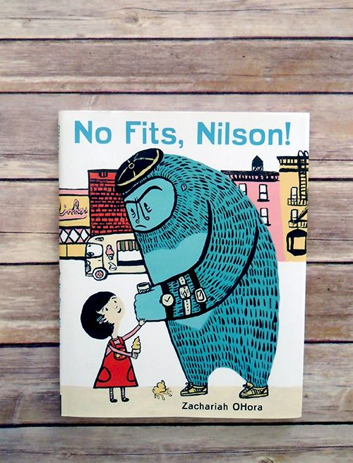 Book of the Week: No Fits, Nilson by Zachariah Ohora: Fit, Bananas Ice Cream, Nilson Throw, Public Libraries, Gorilla Friends, Kids Book, Zachariah Ohora, Children Book, Pictures Book