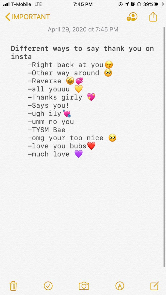 Different Ways To Say Thank You On Insta Instagram Quotes Captions Instagram Quotes Instagram Bio Quotes