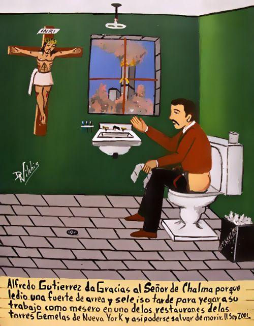 panic in the attic!: Micromilagros. Pequeño muestrario de exvotos mexicanos