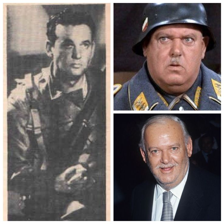 John Banner-Army-1942-joined -He was placed in a concentration camp in early stages of Hitler's campaign. Released, he fled to U.S.not knowing any English with $3 in his pocket. His parents died in the camps.(Actor-Hogans Heroes)
