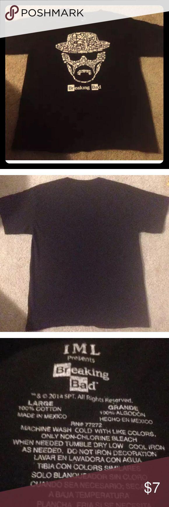 Men's Breaking Bad Graphic T Shirt Men's Breaking Bad T Shirt Size Large. Shirts Tees - Short Sleeve