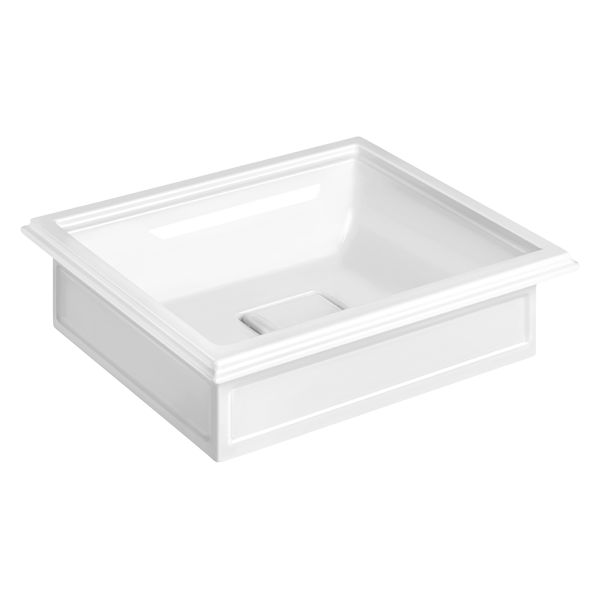 The Eleganza basin can be styled as above or under counter depending on your needs. Versatile and classic and well made- what more could you need?