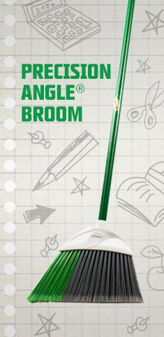 BEST BROOM EVER!!! Precision Angle Broom