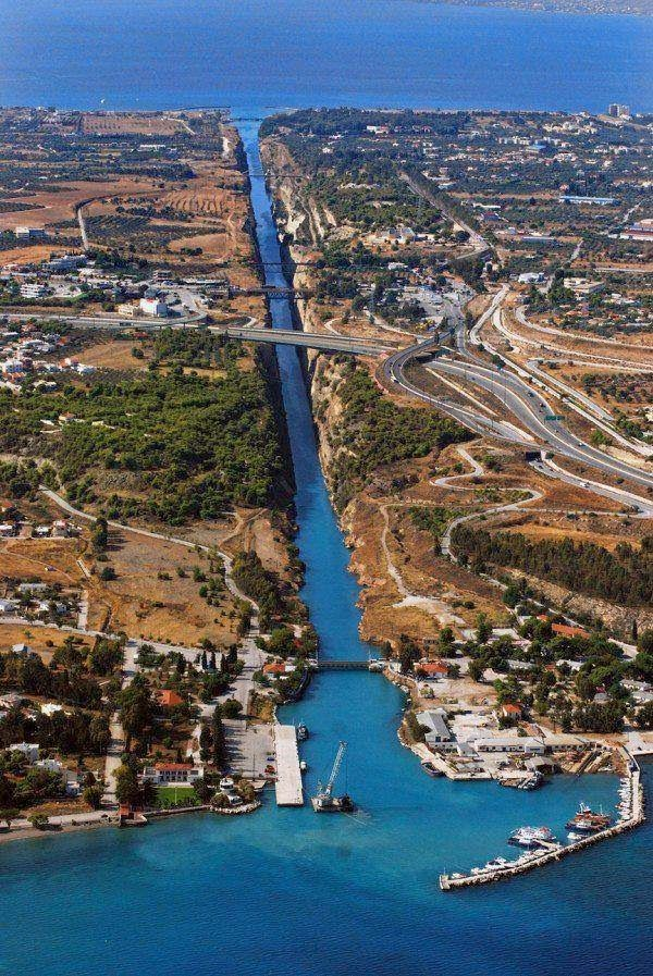 Greece Isthmos Canal