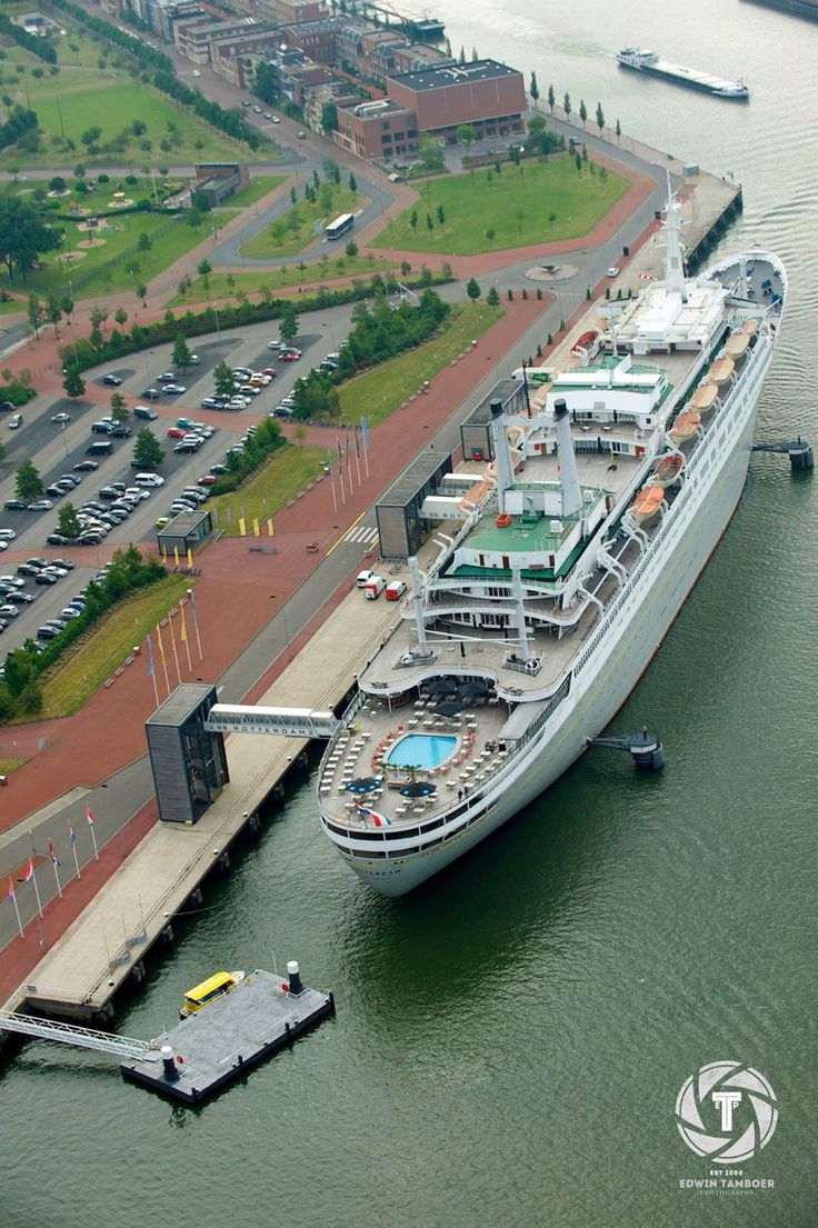 The legendary Rotterdam of the Holland America Line, enjoying a productive retirement in the namesake City of her birth. Image courtesy Johan Holm.