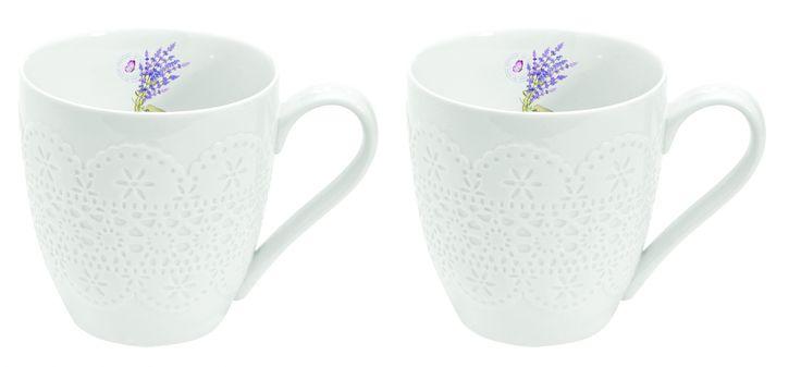Zestaw porcelanowych kubków NuovaR2S - DECO Salon ||  || #set #cups #porcelain #china
