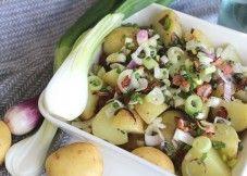 KasvisHovi - Pekoni-sipuli uudet perunat